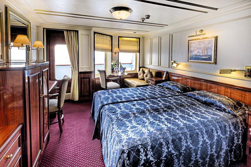 Royal Clipper - Kreuzfahrten - Bilder - Kabinen - Deckplan